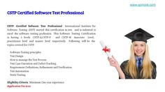 Software Testing Certications