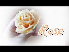 Bean Paste Flowers - YouTube