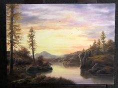 Do you enjoy watching the sunset? Watch Kevin as he paints this calm sunset landscape. For more information about his brushes, DVDs, and paint go to www.paintwithkevin.com