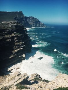 Ive seen a lot of pretty places but none as stunning as Cape Point South Africa [OC] [15362048] #reddit