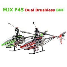 Bluelover MJX F45 sola lámina doble Brushless Motor helicóptero RC 4CH BNF - http://www.midronepro.com/producto/bluelover-mjx-f45-sola-lamina-doble-brushless-motor-helicoptero-rc-4ch-bnf/
