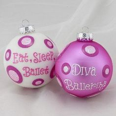Love this idea for my dancing daughter!
