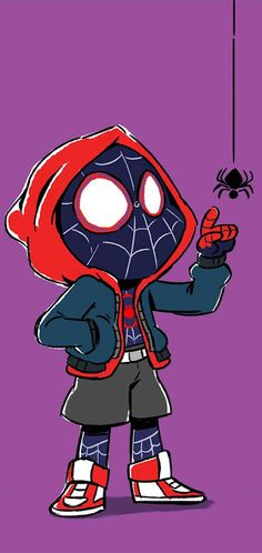 Mini Miles Morales by nicparris.deviant… on Mini Miles Morales by nicparris. Black Spiderman, Amazing Spiderman, Miles Spiderman, Miles Morales Spiderman, Spiderman Spider, Chibi Spiderman, Spiderman Gratis, Spiderman Sketches, Spiderman Drawing