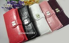 Women's Leather Wallet Lucky Bear Clutch Credit Card Slots Mini Purse 5 Colors