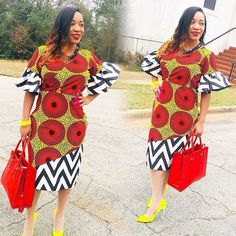 The collection of Beautiful Ankara Pattern Styles For Ladies you've ever wanted to see. Want to style and pattern your African print ankara African American Fashion, African Inspired Fashion, African Print Fashion, Africa Fashion, African Print Dresses, African Fashion Dresses, African Dress, Fashion Outfits, Fashion Ideas