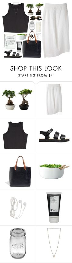 """""""take me to church"""" by beachy-palms ❤ liked on Polyvore featuring forme d'expression, Madewell, LSA International, Korres, Luv Aj and Karen Walker"""