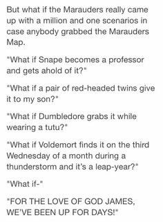 Wait how did Fred and George even found out how to work the map?