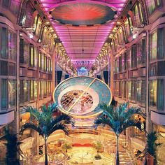 Mariner of the Seas: beautiful inside and out.