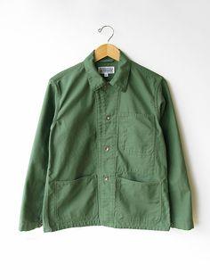 Engineered Garments EG WORKADAY Sateen Utility Jacket