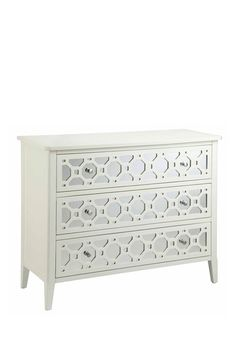 Regency Mirrored 3 Drawer Chest by Old Hollywood Glamour on @HauteLook