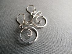 Sterling Silver Swirls