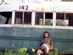 """Cristopher McCandless,"""".... joy of life comes from our encounters with new experiences, and hence there is no greater joy than to have an endlessly changing horizon, for each day to have a new and different sun."""""""