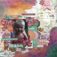 Kaisercraft Bombay Sunset layout. MakeApage Scrapbooking Australia. Kylie Hughes. 2017. Scrapbooking Layouts, Dreaming Of You, Sunset, Kylie, Fun, Crafts, Australia, Inspiration, Ideas
