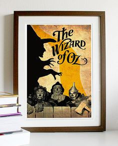 Hey, I found this really awesome Etsy listing at https://www.etsy.com/listing/151911045/the-wizard-of-oz-poster-a3-print