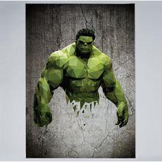 William Teal - Hulk - Print