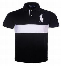 Polo Ralph Lauren Big Logo Short T-Shirt Men Black Blue Dress Bl $35.00.  Save: 70% off. Model: T-Shirt-138 | Ralph Lauren Men | Pinterest | Polo  ralph ...