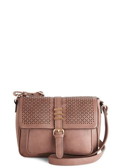 Photography on the Promenade Bag. The sunrise is so beautiful that pulling your camera from this deep-taupe shoulder bag by Melie Bianco is a no-brainer! #tan #modcloth