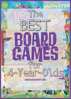 Discover the best board games for 4-year-olds on family game night. Our series of the best board games for kids of all ages continues with this list of the top 10 board games for 4-year-olds. #boardgamesforkids #familygamenight #bestboardgames #kidsgames #kidsactivities #dadsuggests Top Board Games, Family Board Games, Board Games For Kids, Games To Play With Kids, Cooperative Games, Learning Games, Kids Learning, Cool Gifts For Kids, Family Activities