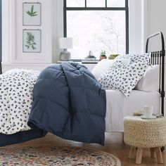Smooth. Beautiful. Breathable. From dots to buoys to blueberries, refresh the bed with new prints and classic patterns in crisp, cotton percale bedding. These cheery designs are the bright spot we all need about now.