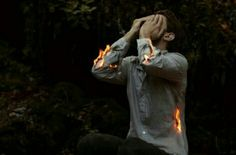 He had been a fool, while feeling the fire spreading over his shaking body he regretted every breath he took