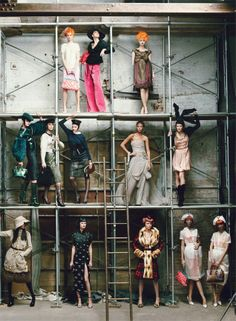 via Vogue LV Collection // Favorite season's under Marc Jacob creative direction