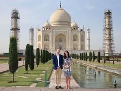 Tribute to Diana: Kate and William Honor His Mother at Taj Mahal 24 Years After Her Famous Visit| The British Royals, The Royals, Kate Middleton, Prince William, Princess Diana