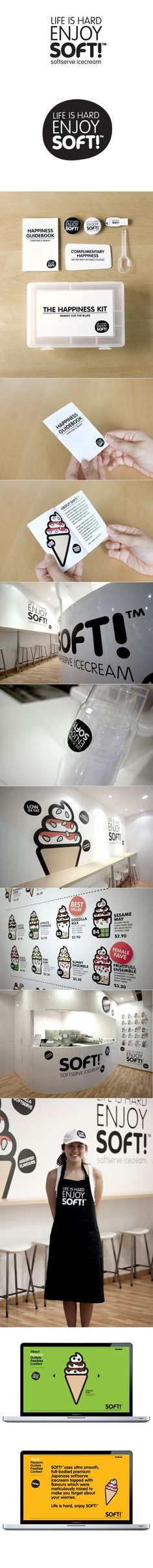 Design / SoftTM branding by Bravo Company