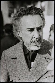 """© Michel Giniès - """"Romain Gary au Festival d'Avoriaz  """" - 1975"""