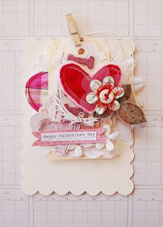 valentines day card @Jill Meyers Monas (saw you were in the valentine mood) :)