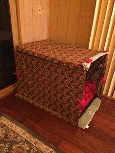 Dog Crate Cover (No Sew or Sew!) | Whimseybox