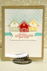 You Brighten my Day stamp set & Irresistibly Yours Designer Paper
