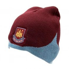 a4d859933b West Ham United Team Bronx Hat. Official Football Shirts   Kit From Soccer  Box