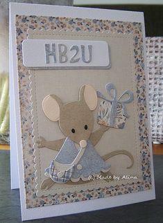 Made by Alina: HB2U! (31 Mar 2018) ... I love these mice!