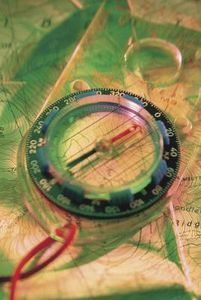 Compass orienteering activities for children.