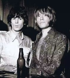 The Rolling Stones: Keith Richards and Brian Jones
