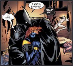 Smallville Season 11 #28 Batman(Bruce Wayne) and Nightwing(Barbara Gordon)