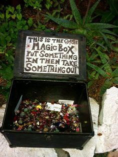 This is the gypsy magic box! Put something in then take something out... | altered whymsical