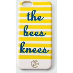 Draper James - Bees Knees Iphone 6 Case ($40) ❤ liked on Polyvore featuring accessories and tech accessories