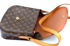 Louis Vuitton Saint Cloud GM Monogram/Authentic Cross Body Shoulder Bag