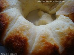 Gâteau aux pommes et fromage blanc tupperware