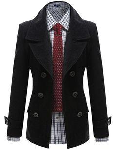 Wool Double Jacket - Doublju #doubleju #mensfashion #menswear