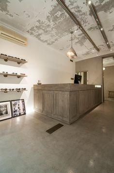 Merveilleux Anchoret Beijing By SPEYS Retail Counter, Store Counter, Concrete Facade,  Visual Merchandising,