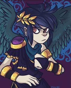 I Really Love This Art Style Kid Icarus UprisingArt