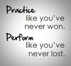 Practice like you've never won. Perform like you've never lost! #basketball #basketballquotes #quotes #lifequotes #motivationalquotes #inspiration #inspirationalquotes #bball