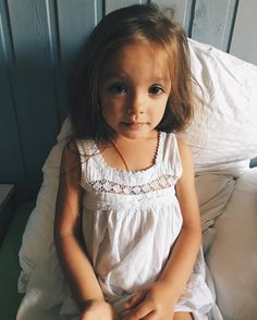 the Anastasia ~ Gentle & such Fragile.  a little Shy and sometimes so Serious.  & Always absolutely impossible Darling _Jul 1-2016. ~ 3 1/2 Yrs old.  @annybakhireva ~ an Angelic, Wonderful & Classic Portrait ✪.