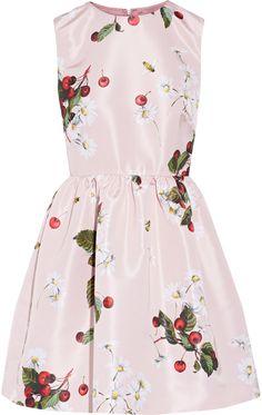 REDValentino Redvalentino Printed Faille Mini Dress
