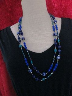 Premier Designs Cobalt necklace BNIB 2014-2015 collection #premierdesign #Chain