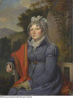 Weygandt, Sebastian Invent 1875/1549 1816, Porträt Baronin Sophie Waitz von Eschen-Rheinfarth