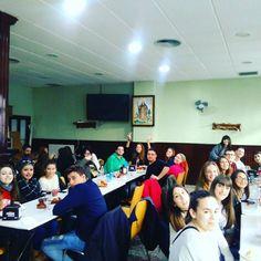 Viernes de #visitasguiadas. Hoy nos visitan los alumnos de la carrera de #turismo de Gandia.