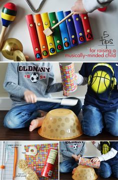 5 Tips for Raising a Musically-Minded Child *great post